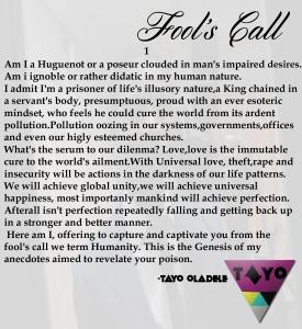 Fool's call